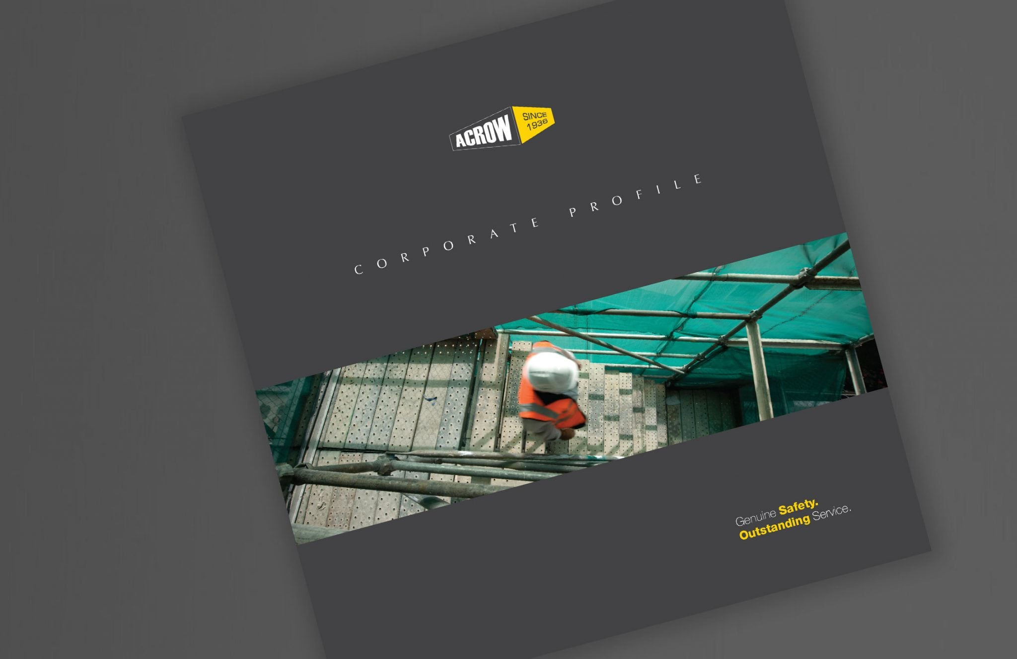 Acrow Formwork - PSD Brand Design