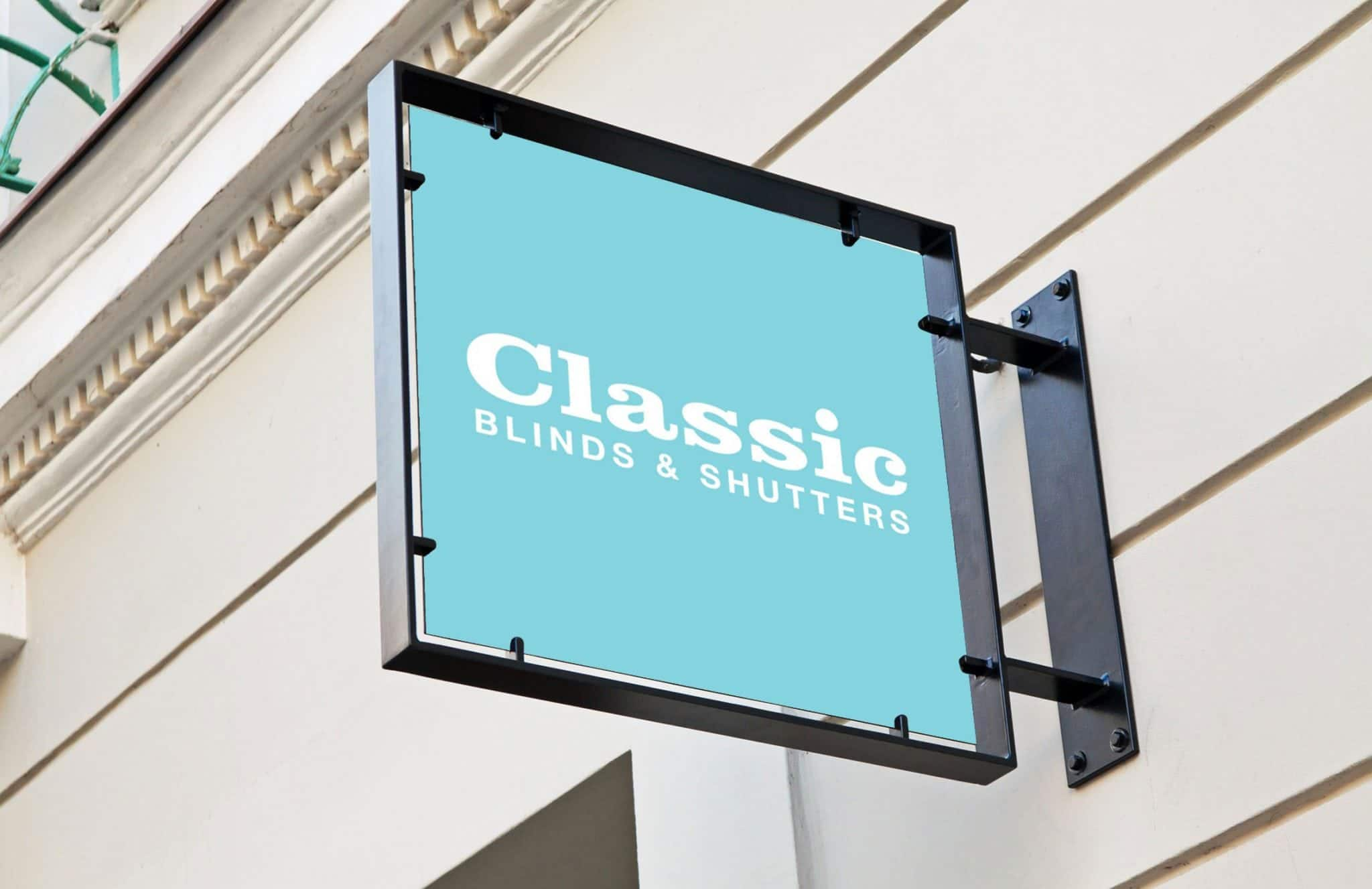 Classic Blinds - PSD Brand Design