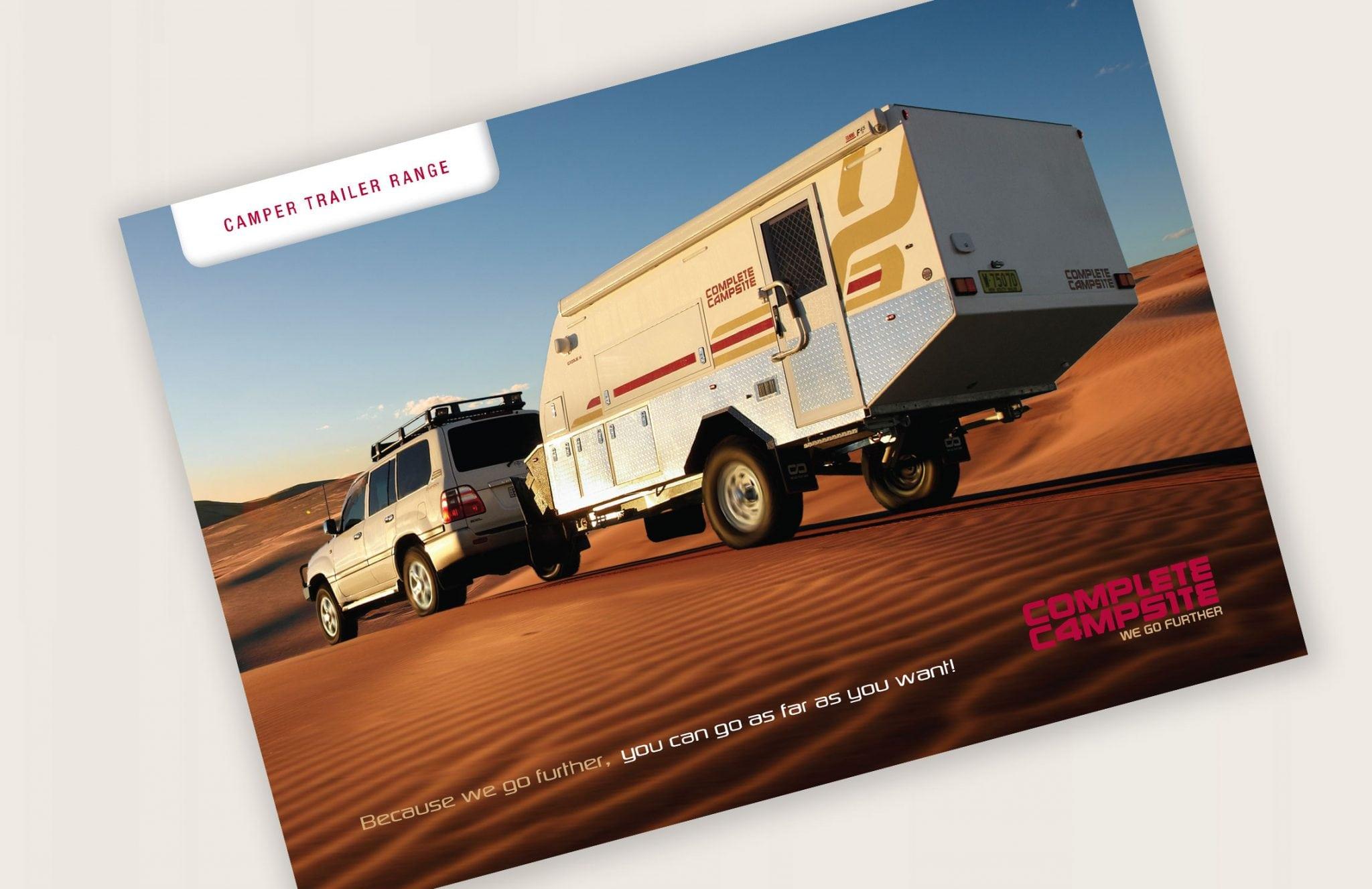 Complete Campsite - PSD Brand Design