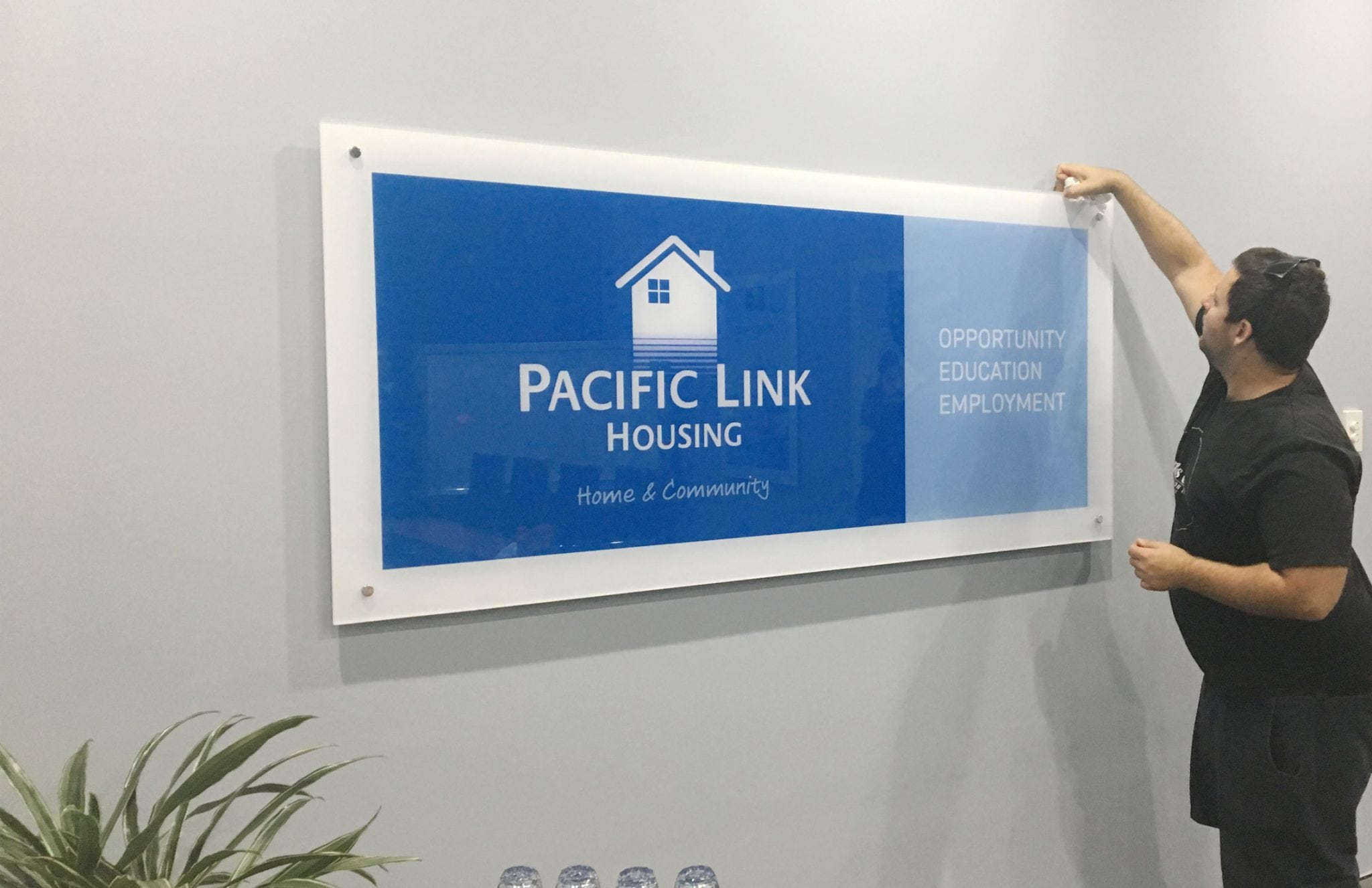 Pacific Link Housing re-brand