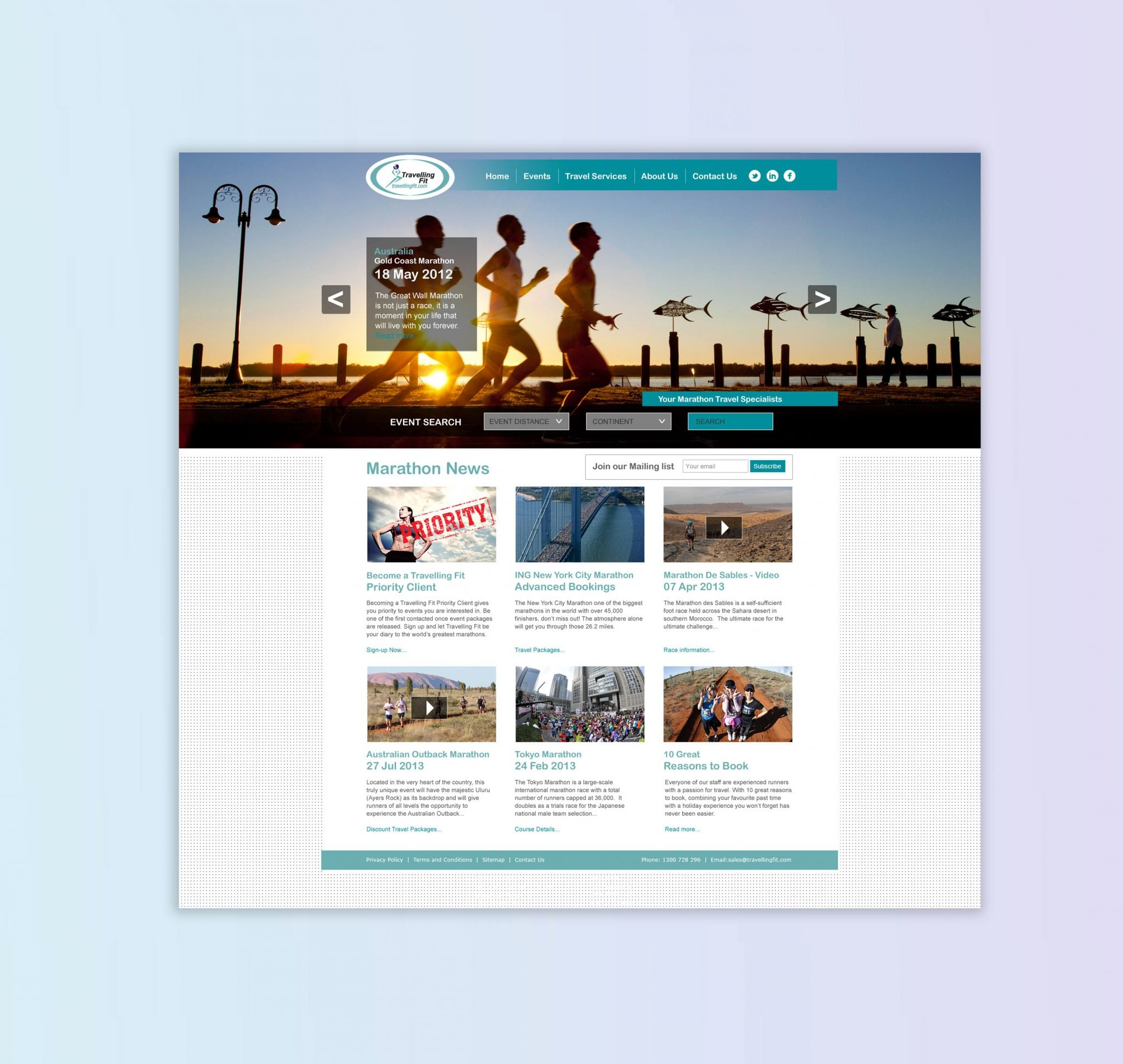 Travelling Fit - PSD Brand Design